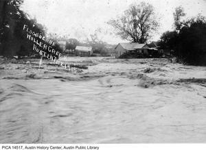 Primary view of Flood Scene - Waller Creek