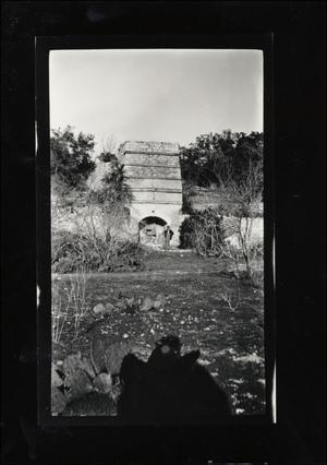 Primary view of object titled '[Lime Kiln in Reed Park]'.