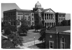 Primary view of object titled 'Administration Building at the Texas State College for Women'.