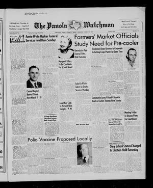 The Panola Watchman (Carthage, Tex.), Vol. 82, No. 14, Ed. 1 Thursday, March 17, 1955