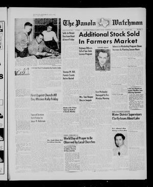 The Panola Watchman (Carthage, Tex.), Vol. 82, No. 11, Ed. 1 Thursday, February 24, 1955