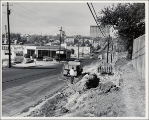 Primary view of object titled '[19th Street Looking West]'.