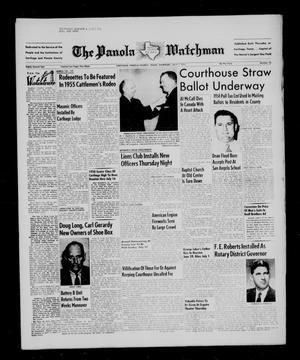 The Panola Watchman (Carthage, Tex.), Vol. 82, No. 30, Ed. 1 Thursday, July 7, 1955