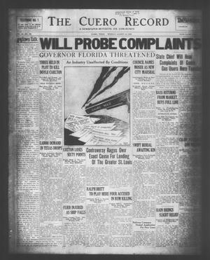 The Cuero Record (Cuero, Tex.), Vol. 36, No. 196, Ed. 1 Monday, August 18, 1930