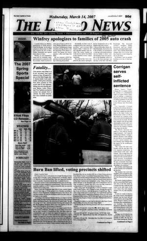 The Llano News (Llano, Tex.), Vol. 119, No. 24, Ed. 1 Wednesday, March 14, 2007
