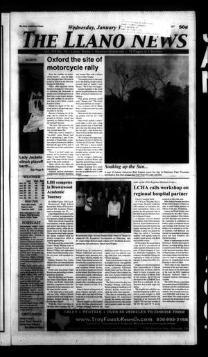 The Llano News (Llano, Tex.), Vol. 119, No. 18, Ed. 1 Wednesday, January 31, 2007