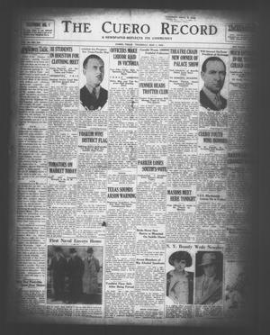 The Cuero Record (Cuero, Tex.), Vol. 36, No. 104, Ed. 1 Thursday, May 1, 1930