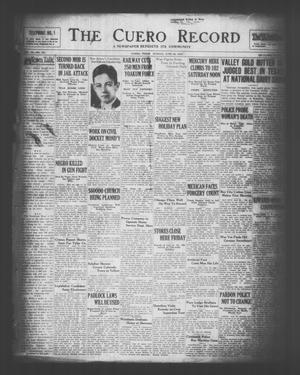 The Cuero Record (Cuero, Tex.), Vol. 36, No. 154, Ed. 1 Sunday, June 29, 1930