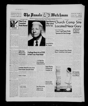 The Panola Watchman (Carthage, Tex.), Vol. 82, No. 38, Ed. 1 Thursday, September 1, 1955