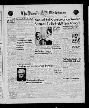 The Panola Watchman (Carthage, Tex.), Vol. 82, No. 22, Ed. 1 Thursday, May 12, 1955