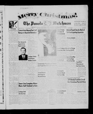 The Panola Watchman (Carthage, Tex.), Vol. 83, No. 2, Ed. 1 Thursday, December 22, 1955