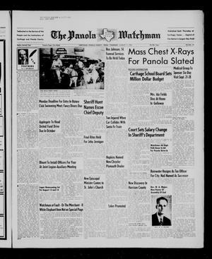 The Panola Watchman (Carthage, Tex.), Vol. 82, No. 35, Ed. 1 Thursday, August 11, 1955
