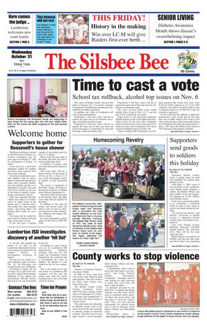 The Silsbee Bee (Silsbee, Tex.), Vol. 91, No. 44, Ed. 1 Wednesday, October 31, 2007