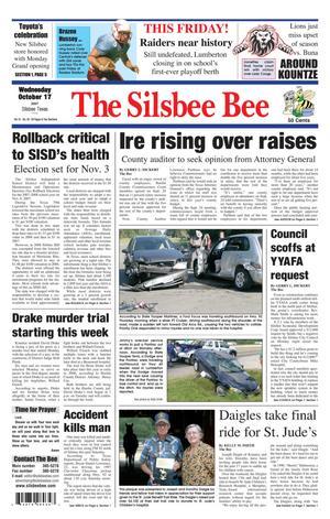The Silsbee Bee (Silsbee, Tex.), Vol. 91, No. 42, Ed. 1 Wednesday, October 17, 2007