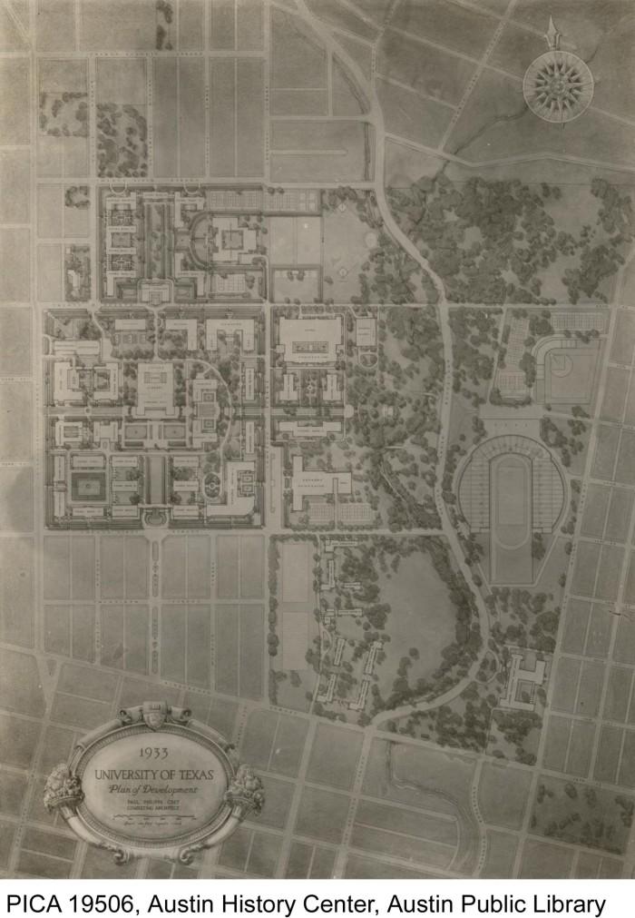 University of Texas Plan of Development Map] - The Portal to Texas on