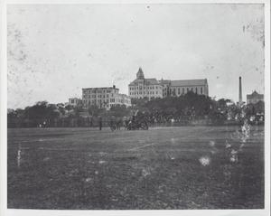 Primary view of object titled '[University of Texas practice game, 1900]'.