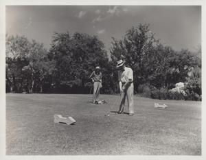 Primary view of object titled 'View at Municipal Golf Course'.