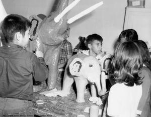 Primary view of object titled 'Arts and crafts classes at Pan American Recreation Center'.