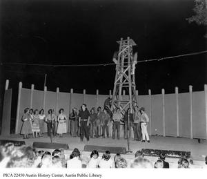 Primary view of [Wildcat performed on stage at Zilker Hillside Theater]