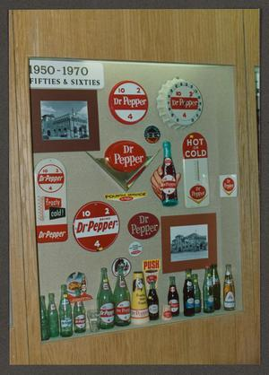[Display of Artifacts at Dr. Pepper Museum]