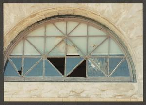 [Broken Window at the Artesian Manufacturing and Bottling Company]
