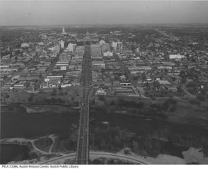 Primary view of object titled '[Aerial View of Austin, TX]'.