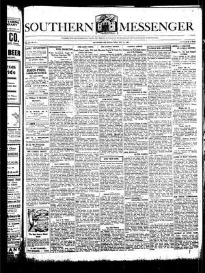 Southern Messenger (San Antonio and Dallas, Tex.), Vol. 16, No. 21, Ed. 1 Thursday, July 11, 1907