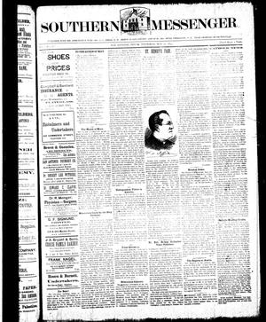 Southern Messenger. (San Antonio, Tex.), Vol. [3], No. [11], Ed. 1 Thursday, May 17, 1894