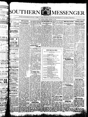 Southern Messenger (San Antonio, Tex.), Vol. 13, No. 35, Ed. 1 Thursday, October 27, 1904
