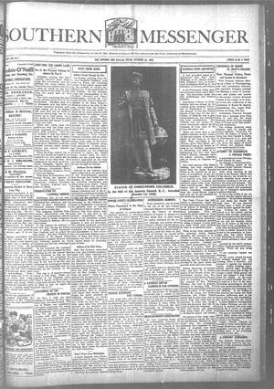 Southern Messenger (San Antonio and Dallas, Tex.), Vol. 17, No. 36, Ed. 1 Thursday, October 22, 1908
