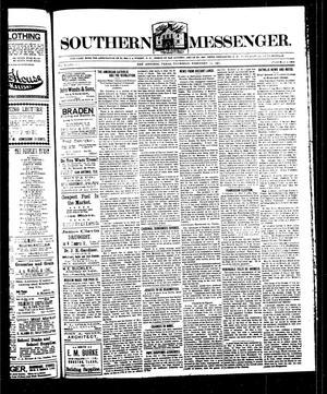 Southern Messenger. (San Antonio, Tex.), Vol. 11, No. 51, Ed. 1 Thursday, February 12, 1903