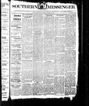 Southern Messenger. (San Antonio, Tex.), Vol. 3, No. 33, Ed. 1 Thursday, October 18, 1894