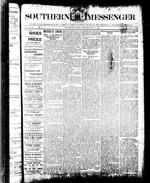 Southern Messenger. (San Antonio, Tex.), Vol. 3, No. 13, Ed. 1 Thursday, May 31, 1894