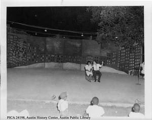 Primary view of object titled '[Rosewood playground pageant, August 1960]'.