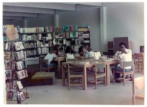 Primary view of object titled 'Adult Education Class at the Denton Public Library'.