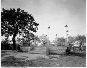 Primary view of object titled '[Rosewood park bandstand]'.
