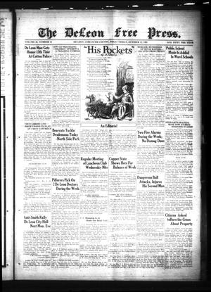 The DeLeon Free Press. (De Leon, Tex.), Vol. 39, No. 15, Ed. 1 Friday, October 12, 1928