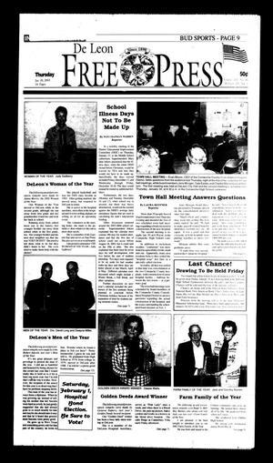 De Leon Free Press (De Leon, Tex.), Vol. 113, No. 30, Ed. 1 Thursday, January 30, 2003