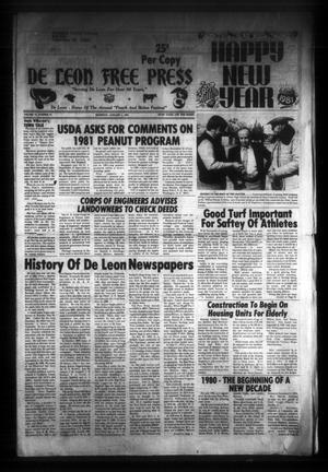 De Leon Free Press (De Leon, Tex.), Vol. 93, No. 31, Ed. 1 Thursday, January 1, 1981