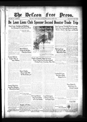 The DeLeon Free Press. (De Leon, Tex.), Vol. 39, No. 44, Ed. 1 Friday, May 3, 1929