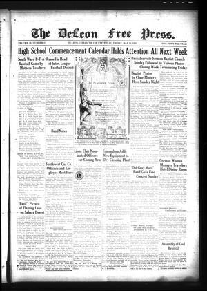 The DeLeon Free Press. (De Leon, Tex.), Vol. 39, No. 47, Ed. 1 Friday, May 24, 1929