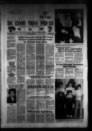 De Leon Free Press (De Leon, Tex.), Vol. 94, No. 29, Ed. 1 Thursday, December 17, 1981
