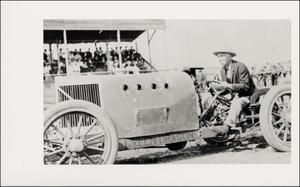 Primary view of object titled '[Racing in Hyde Park]'.
