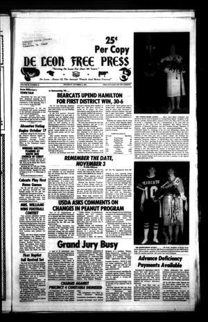De Leon Free Press (De Leon, Tex.), Vol. 99, No. 19, Ed. 1 Thursday, October 11, 1984