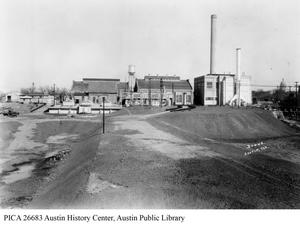 Primary view of [Seaholm Power Plant rear view]