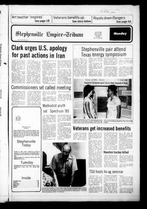 Stephenville Empire-Tribune (Stephenville, Tex.), Vol. 111, No. 251, Ed. 1 Monday, June 9, 1980