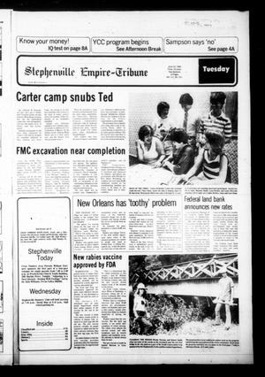 Primary view of object titled 'Stephenville Empire-Tribune (Stephenville, Tex.), Vol. 111, No. 251, Ed. 1 Tuesday, June 10, 1980'.