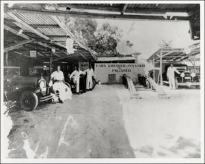 Primary view of object titled 'Interior of Owens Garage'.