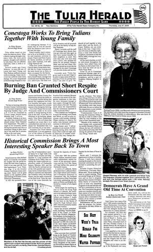 The Tulia Herald (Tulia, Tex.), Vol. 98, No. 30, Ed. 1 Thursday, July 27, 2006