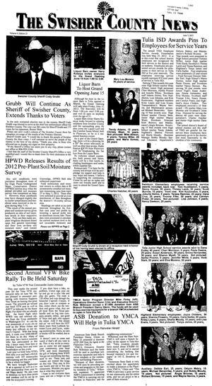 The Swisher County News (Tulia, Tex.), Vol. 4, No. 24, Ed. 1 Thursday, June 14, 2012